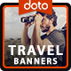HTML5 Travel Banners - GWD - 7 Sizes(ELT92)