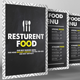 Minimal Restaurant Food Menu