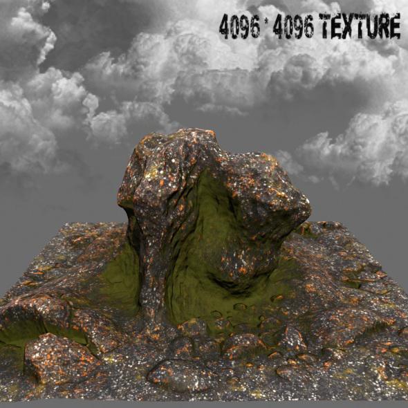 Mountain_Rock 09 - 3DOcean Item for Sale