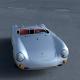 Porsche 550 Spyder HDRI