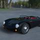Porsche 550 Spyder black HDRI