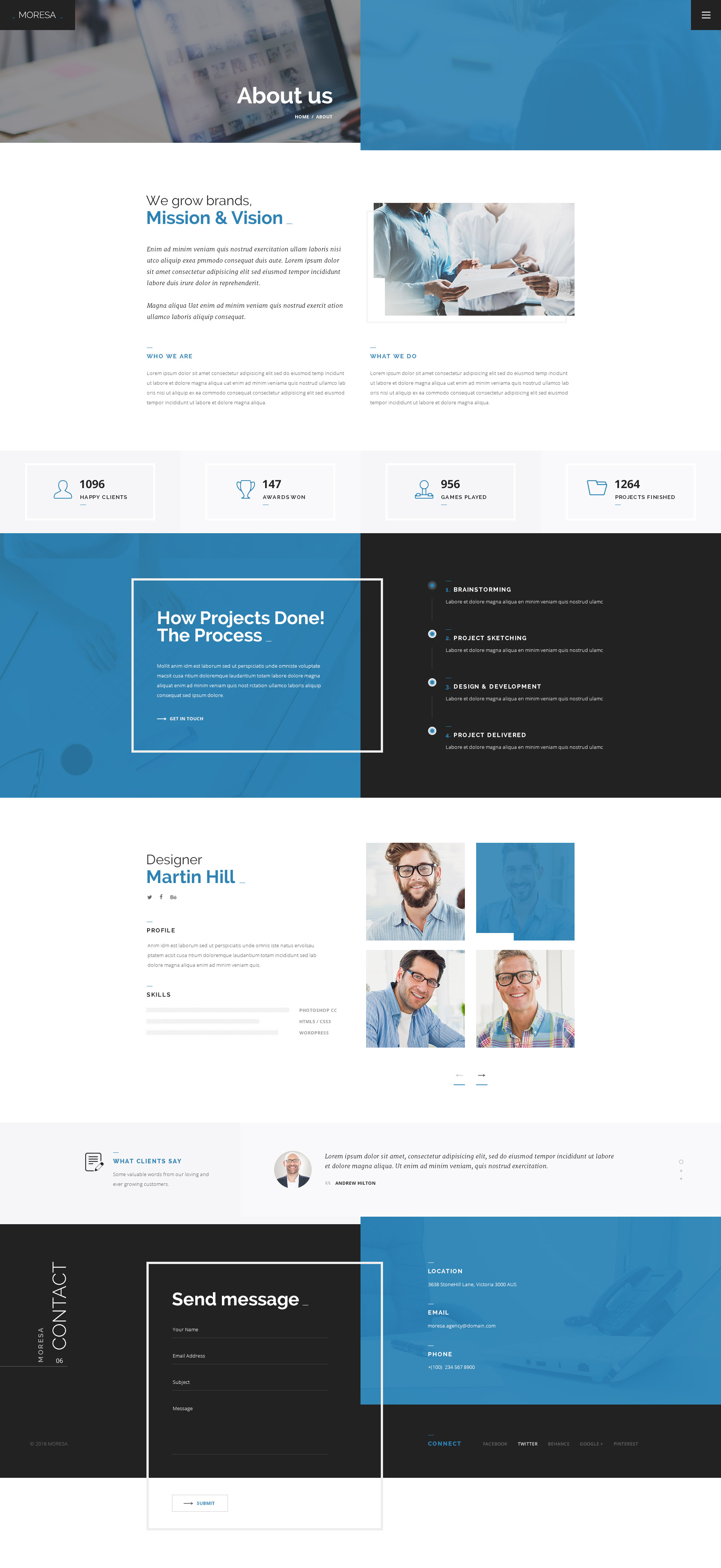 Lovely 1 Inch Hexagon Template Thin 1 Year Experience Java Resume Format Clean 10 Envelope Template 10x10 Grid Template Young 12 Column Grid Template Blue13 Birthday Invitation Templates MORESA   Multipurpose PSD Template By Pix Theme | ThemeForest