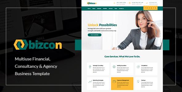 Bizcon   Responsive Multi-purpose HTML5 Template