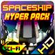 Spaceship Hyper Pack