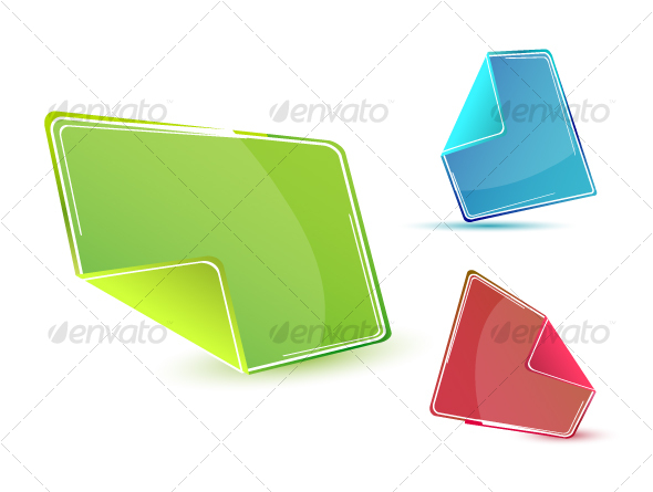 Stickers - Objects Vectors