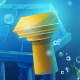 Atlantis Seamless Submerged Underwater City