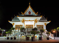 Thai temple at night - PhotoDune Item for Sale