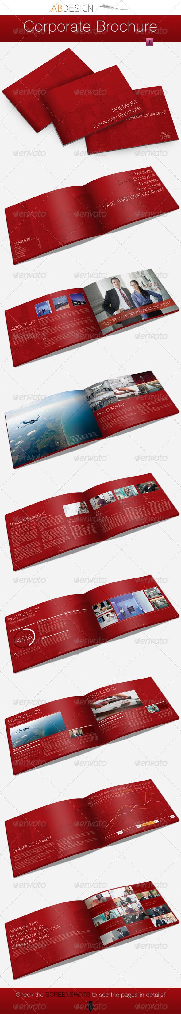 GraphicRiver A4 Premium Corporate Brochure 1571502