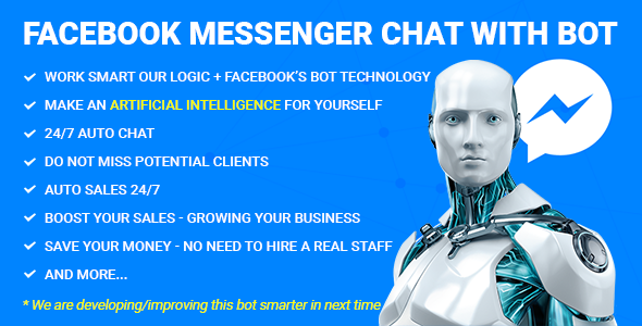 Download Facebook Messenger Chat with Bot nulled download