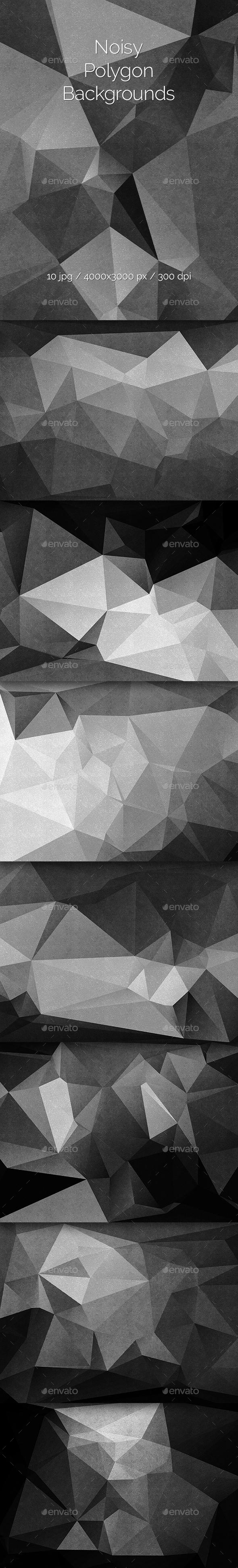 Noisy Polygon Backgrounds