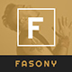Fasony - Responsive Fashion Prestashop Theme