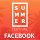 Summer Festival Facebook Covers and Post Banners
