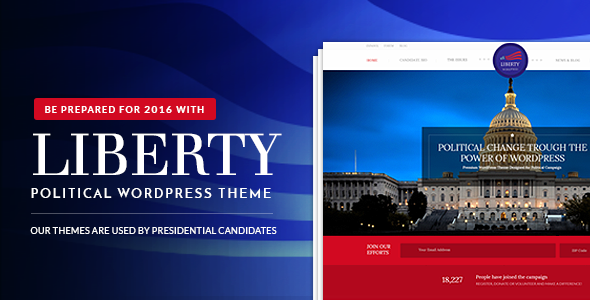 28 - Liberty - Your Political WordPress Theme