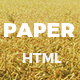 Paper - Creative Multipurpose HTML Template