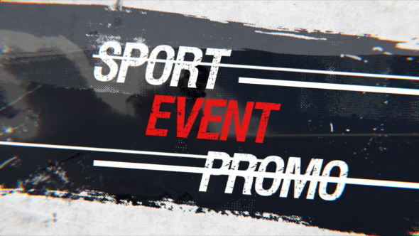 Sport Event Promo-Videohive中文最全的AE After Effects素材分享平台
