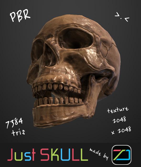 JustSkull - 3DOcean Item for Sale