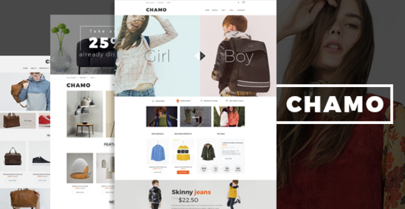 Chamo- eCommerce Bootstrap Template