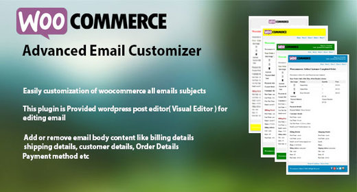 WooCommerce Advanced Email Customizer