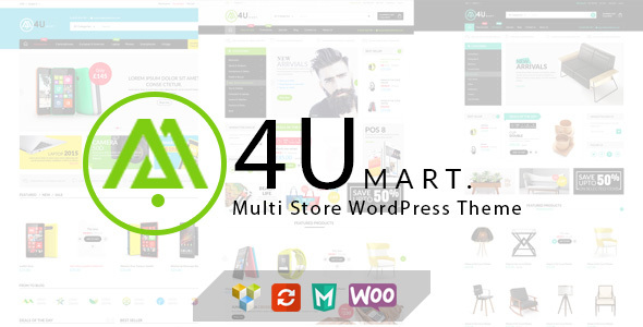 Download M4U - Multi Store Responsive WordPress Theme nulled download