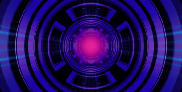 Tiivistelmä valonsäteet Circle - Abstract Taustat Motion Graphics
