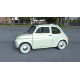 Fiat 500D Nuova 1960 with interior HDRI