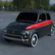 Fiat 500 Nuova Sport 1958 HDRI