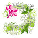 Vector spring background with floral - GraphicRiver Item for Sale