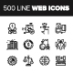 Line Web Icons.