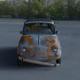 Fiat 500 Nuova 1957 with interior rusty HDRI