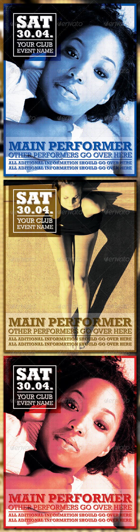 GraphicRiver Retro Poster 237234