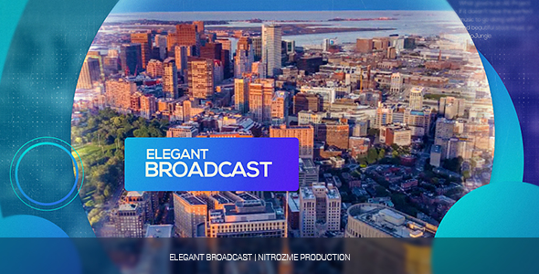 Elegantti Broadcast avaaja - Special Events avaajat After Effects Project Files