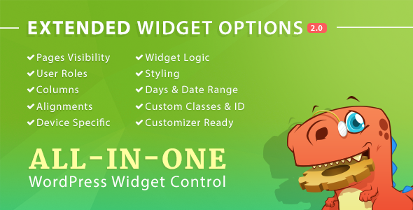 Download Extended Widget Options for WordPress nulled download