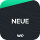 Neue - App Landing Page WordPress Theme