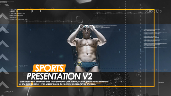 Sport Presentation V2 - Sports avaajat After Effects Project Files