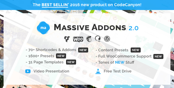 9. Massive Addons for Visual Composer