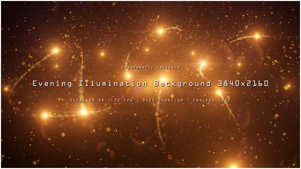 Ilta Illumination 3 - Light Taustat Motion Graphics