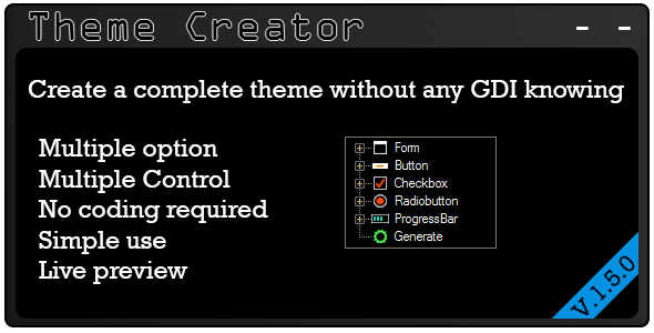 Theme Creator - CodeCanyon Item for Sale