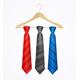 Tie Set on Wooden Hanger