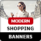 Modern Shopping Banner Ads