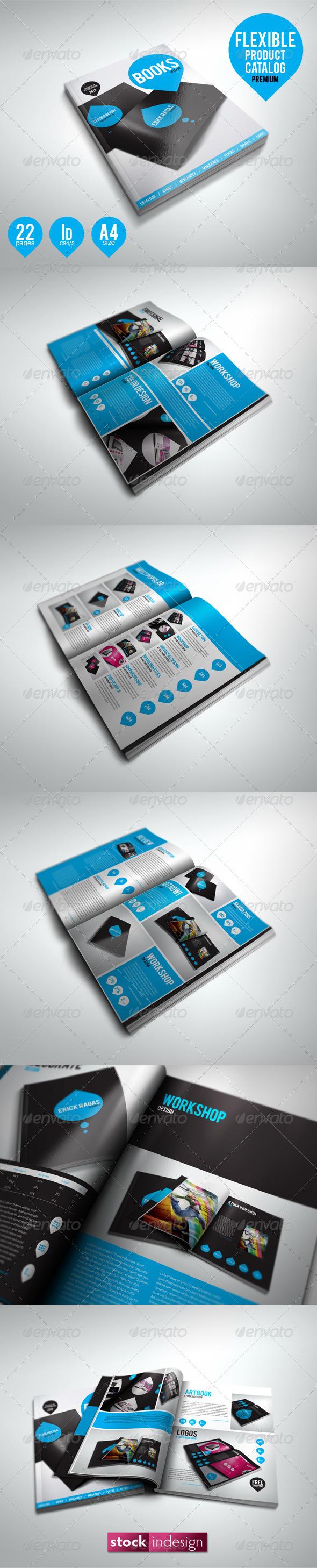 GraphicRiver Flexible Product Catalog Premium 1596175