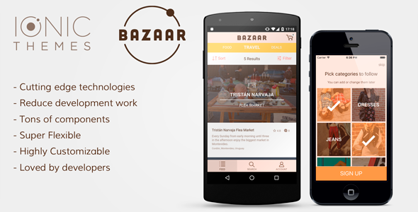 BAZAAR - eCommerce Ionic App Template - CodeCanyon Item for Sale