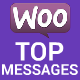 WooCommerce Top Push Messages