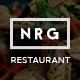 NRG Restaurant - Restauranteur & Catering Theme