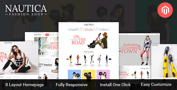 TV Nautica - Responsive  Magento Fashion Theme