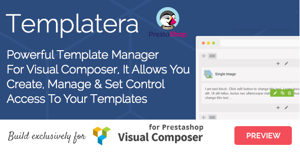 Download Templatera - Template Manager for Visual Composer Prestashop