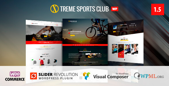 16 - Xtreme Sports  - WordPress Club Theme
