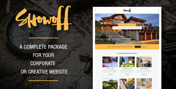 Download Showoff - Complete Corporate WordPress Theme nulled download