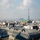 Paris's Roof from the Galerie Lafayette