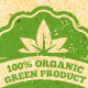 Ecology Friendly Organic Vector Design Elements - GraphicRiver Item for Sale