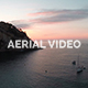 Aerial Video of a Sunrise in Spain